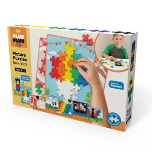 Big Tangram Basic 60pcs - Plus Plus