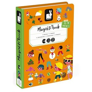 Magnetibook 4 Seasons - Janod