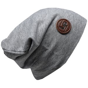 Tuque de coton Ultra Stylée(Boston) Gris 0-3m - L&P