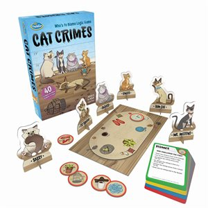 Cat Crimes - Thinkfun