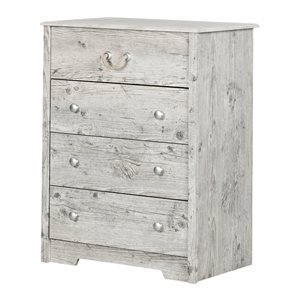 Commode 4 tiroirs Aviron Pin Bord de Mer - South Shore