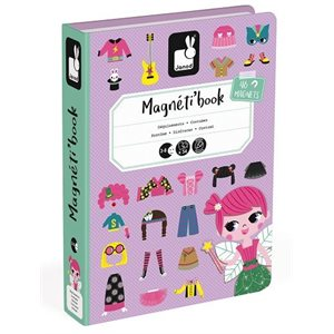 Magnetibook Girl Costumes - Janod