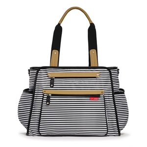 Grand Central Sac à couche Black & White Stripe - Skip Hop