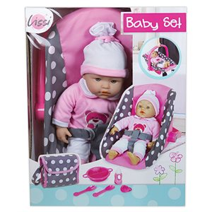 "15"" soft baby with car seat / bag / acess. - Playwell"