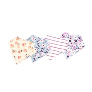 Bavoir Bandana pqt-4 Morgan - CopperPearl