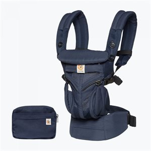 Porte-bébé Omni 360 Cool Air Mesh Midnight Blue - Ergobaby