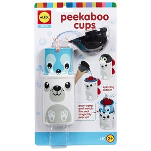 Peek-a-Boo cups - Alex