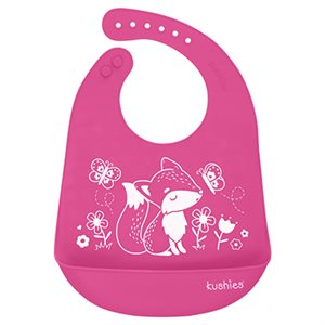 Silicatch Bib Foxy Lady / Candy - Kushies