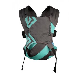 Venture + Carrier Mint charcoal Zigzag - Diono