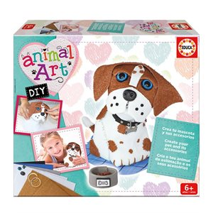 Animal art DIY chiot - Educa