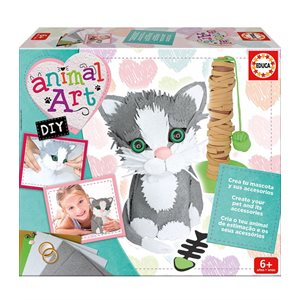 Animal Art DIY chaton - Educa