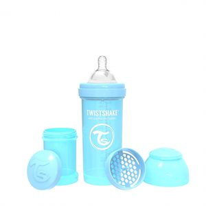 Biberon anti-colique 260ml Pastel Blue - Twistshake