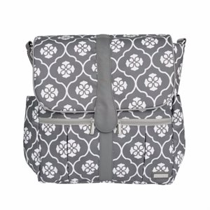 Sac à couche Backpack Gray Floret - JJ Cole