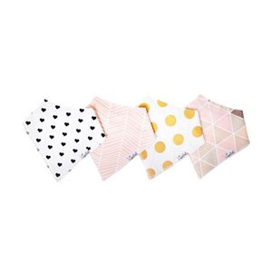 Bavoir Bandana Blush - CopperPearl