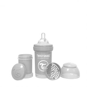 Biberon anti-colique 180ml Grey - Twistshake