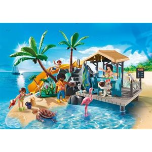 Bar de plage - Playmobil