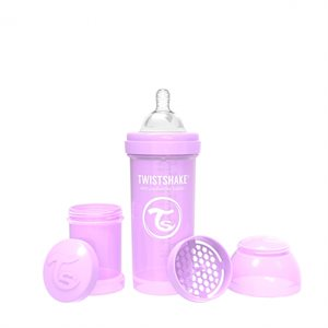 Biberon anti-colique 260ml Pastel Purple - Twistshake