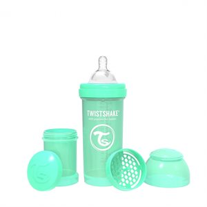 Biberon Anti-colique 260ml Pastel Green - Twistshake