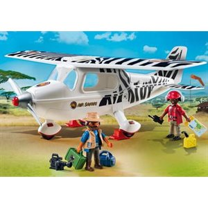 Avion avec explorateurs - Playmobil