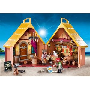 Bastion de pirates transportable - Playmobil
