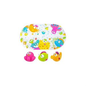 Tapis de bain Jelly Animaux - Escabbo
