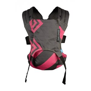 Venture + Carrier Bubblegum charcoal zigzag - Diono